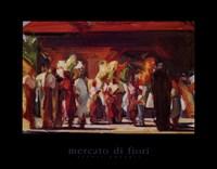 Mercato di Fiori Fine Art Print
