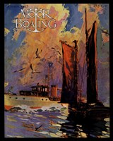 Motor Boating, c.1925 Fine Art Print