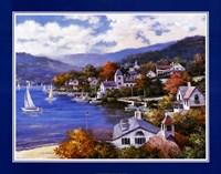 "Rhode Island Harbor by T.C. Chiu - 28"" x 22"", FulcrumGallery.com brand"