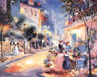 "City Streets by La Foret - 28"" x 22"""