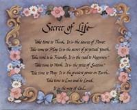 "Secret of Life - 20"" x 16"" - $11.99"