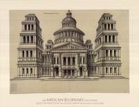 """Portail de Temple, (The Vatican Collection) - 34"""" x 26"""""""