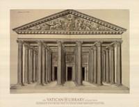 Ordonnance d'un Portique, (The Vatican Collection) Fine Art Print