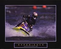 """Experience - Jet Skier - 28"""" x 22"""""""