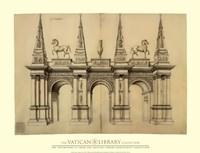 """Facade avec Elephants, (The Vatican Collection) - 34"""" x 26"""""""