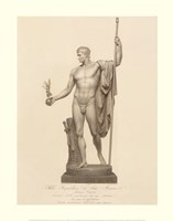 Man with Ball and Staff, (The Vatican Collection) Fine Art Print
