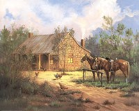 Western Home Fine Art Print