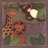 Jungle Friends Framed Print