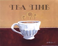 "Tea Time by T. steele Jones - 10"" x 8"", FulcrumGallery.com brand"