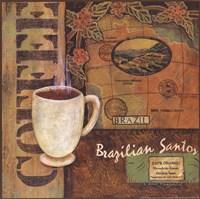 Coffees of the World - Brazil Fine Art Print