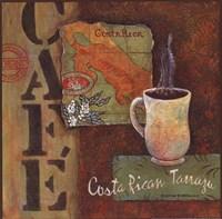 Coffees of the World - Costa Rica Fine Art Print