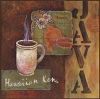 Coffees of the World - Hawaii Fine Art Print