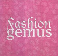 Fashion Genius Fine Art Print