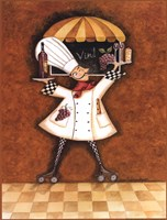 Vin Chef Fine Art Print