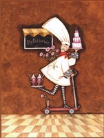 """Patisserie Chef by Sydney Wright - 12"""" x 16"""""""