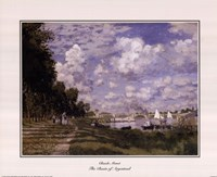 The Basin at Argenteuil Fine Art Print