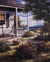 """Coastal View by T.C. Chiu - 16"""" x 20"""" - $11.99"""