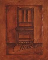 Une Chaise Fine Art Print