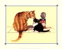 "Cat Food by Mellie Everett Field - 20"" x 16"""