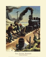 Artwork by Thomas Hart Benton