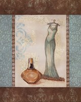 Aqua Fashion II - mini Fine Art Print