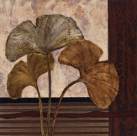 Urban Ginkgo II - mini Fine Art Print