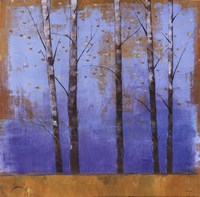 "Birch Trees I - mini by Cheryl Martin - 12"" x 12"""