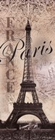 "Eiffel Tower by Todd Williams - 8"" x 20"""