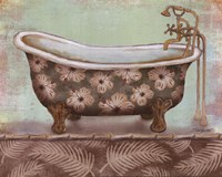 Tropical Bath II - mini Fine Art Print