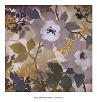 "HARMONY II by Sally Bennett Baxley - 20"" x 22"""