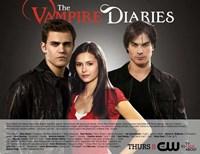 The Vampire Diaries - style B Fine Art Print