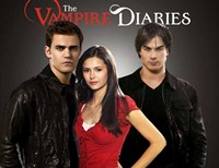 The Vampire Diaries - style E Framed Print
