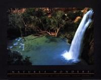 "Havasu Falls by Christopher Talbot Frank - 28"" x 22"""