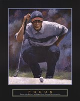Focus - Golf Fine Art Print