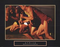 Strive - Race Fine Art Print