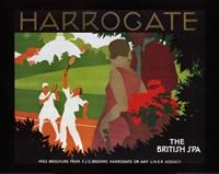 """Harrogate by Tom Purvis - 28"""" x 22"""""""