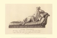 "Reclining Lady (verso), The Vatican Collection by Antonio Canova - 24"" x 16"""
