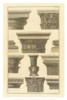 "Vari Capitelli, (The Vatican Collection) by Giovanni Battista Piranesi - 24"" x 36"""