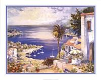 "Mediterranean Sunrise by Raul Conte - 28"" x 22"""