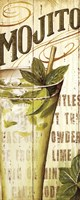 "Mojito by Lisa Audit - 8"" x 20"""