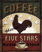 Coffee Blend Label III Fine Art Print