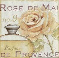 Fleurs and Parfum I Framed Print