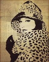 Fashion News II Framed Print