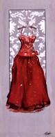 Red Dress Fine Art Print