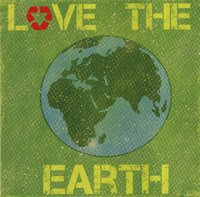 Love the Earth Framed Print