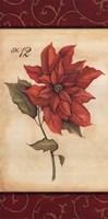 "Poinsettia by Stephanie Marrott - 8"" x 16"" - $9.99"
