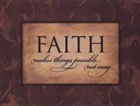 "Faith Makes Things Possible by Stephanie Marrott - 16"" x 12"""