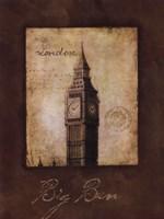 """Big Ben by Stephanie Marrott - 12"""" x 16"""""""