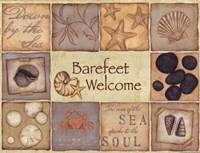 """Barefeet Welcome by Stephanie Marrott - 16"""" x 12"""""""