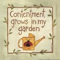 "Contentment by Bernadette Deming - 8"" x 8"""